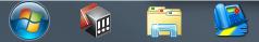 Icons auf Windows 7 Taskleiste