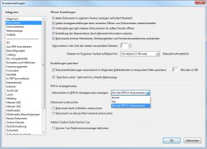 "Acrobat-Screenshot ""PDF/A-Anzeigemodus"""