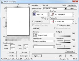 Einstellungen für fi-6130/6230, fi-6140/6240 u.a.
