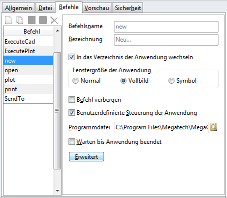 "Screenshot Fenster ""Dokumenttypen"""