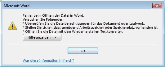 fehler-oeffnen-word-datei