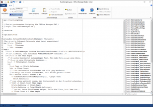 Screenshot EventScripting.pas