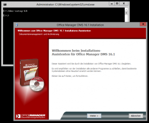 Anwendung unter Core installieren