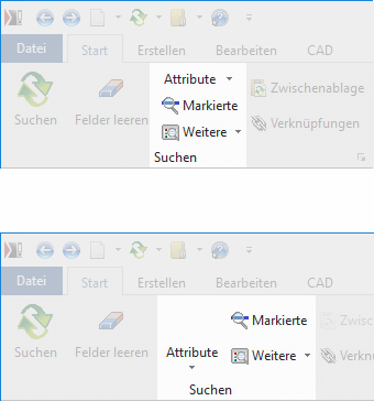 Screenshot Startmenü